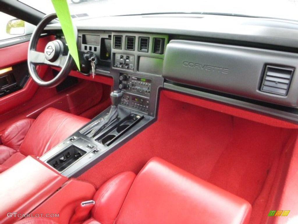 1989 Corvette Interior   Corvette   Corvette, Corvette zr1