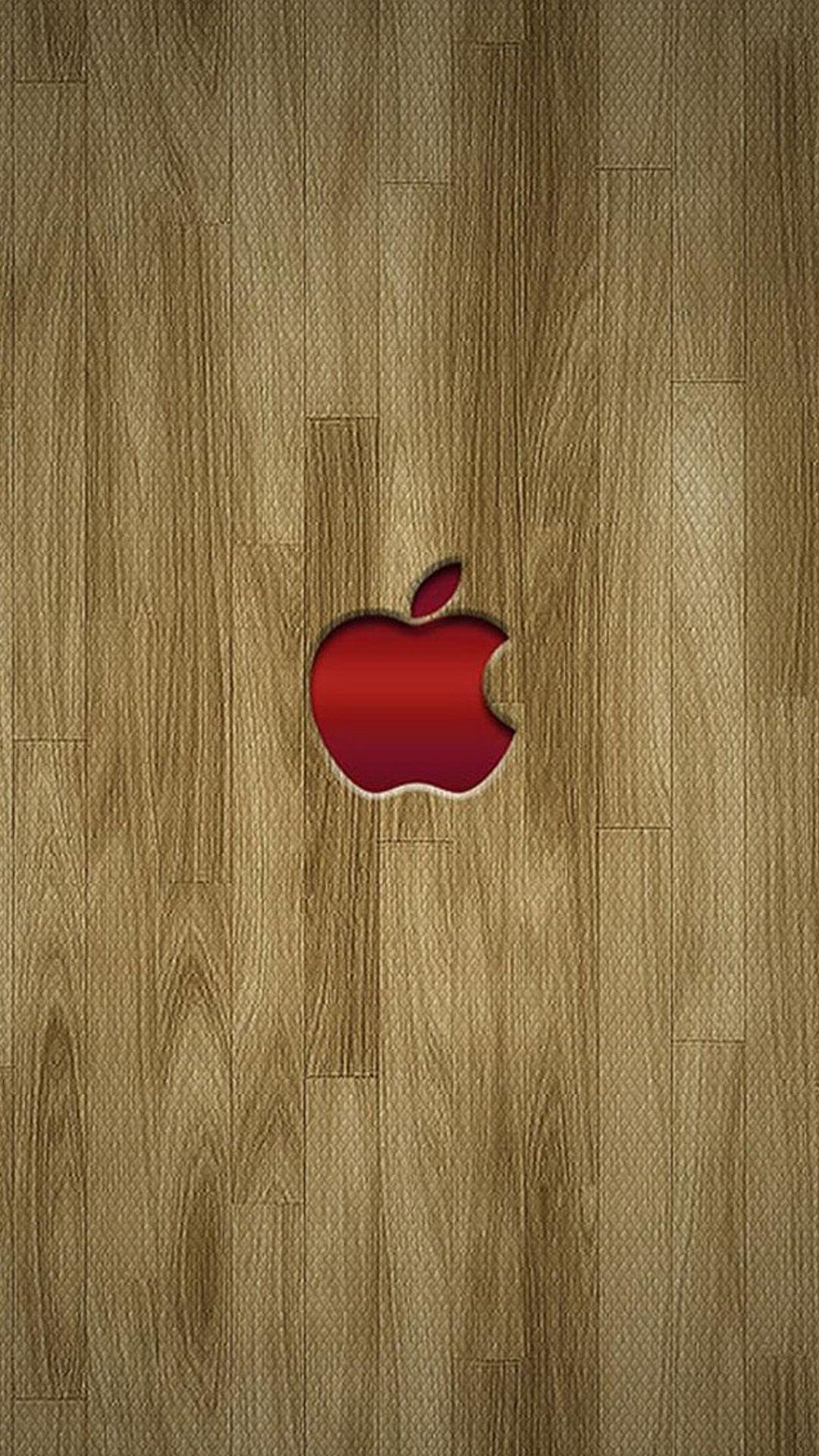 Apple logo wood texture apple wallpaper iphone apple