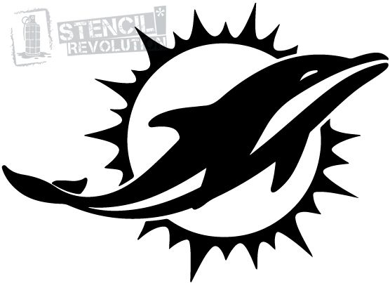Miami dolphins stencils memes and