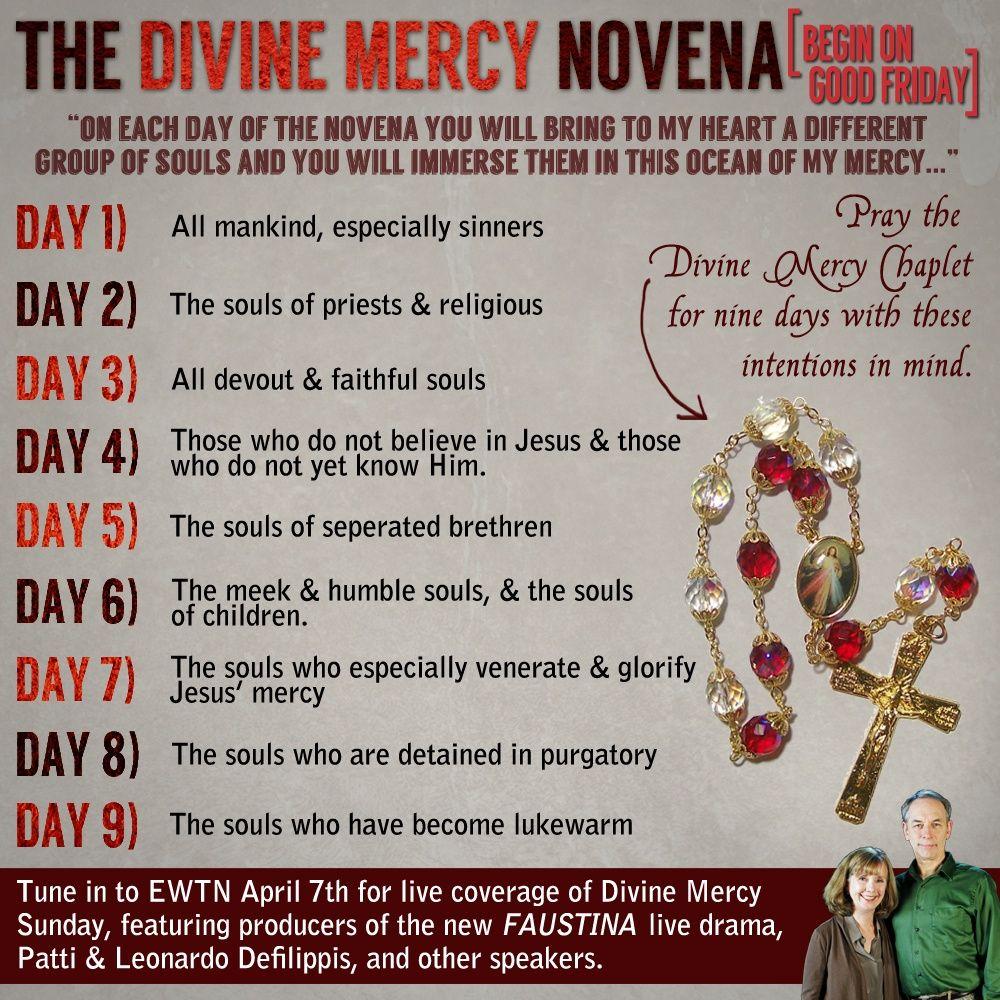 Divine mercy novena divine mercy novena divine mercy