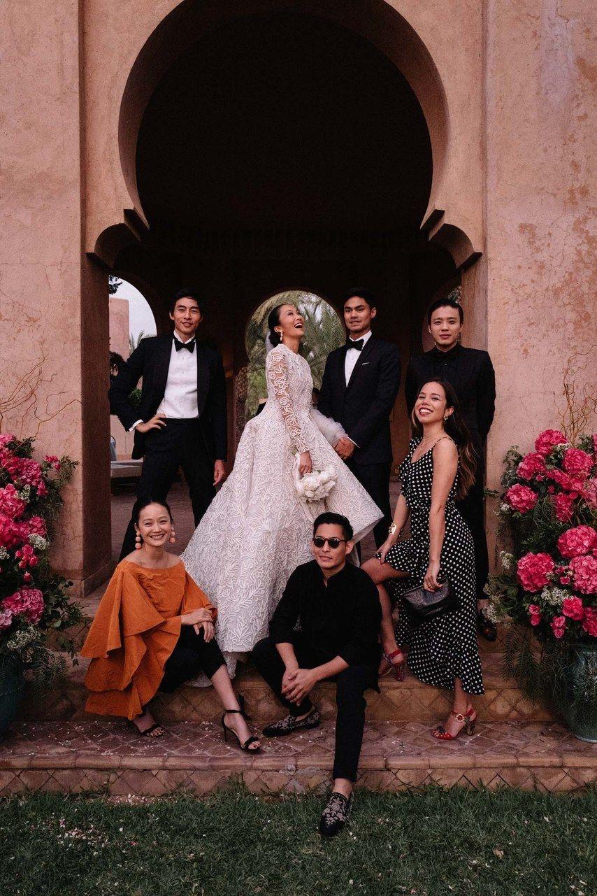 A Magical Wedding Celebration In Marrakech Morocco Royal Wedding Dress Magical Wedding Bride