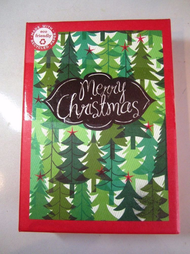 nib papyrus boxed holiday cards merry christmas 16 cards envstickers