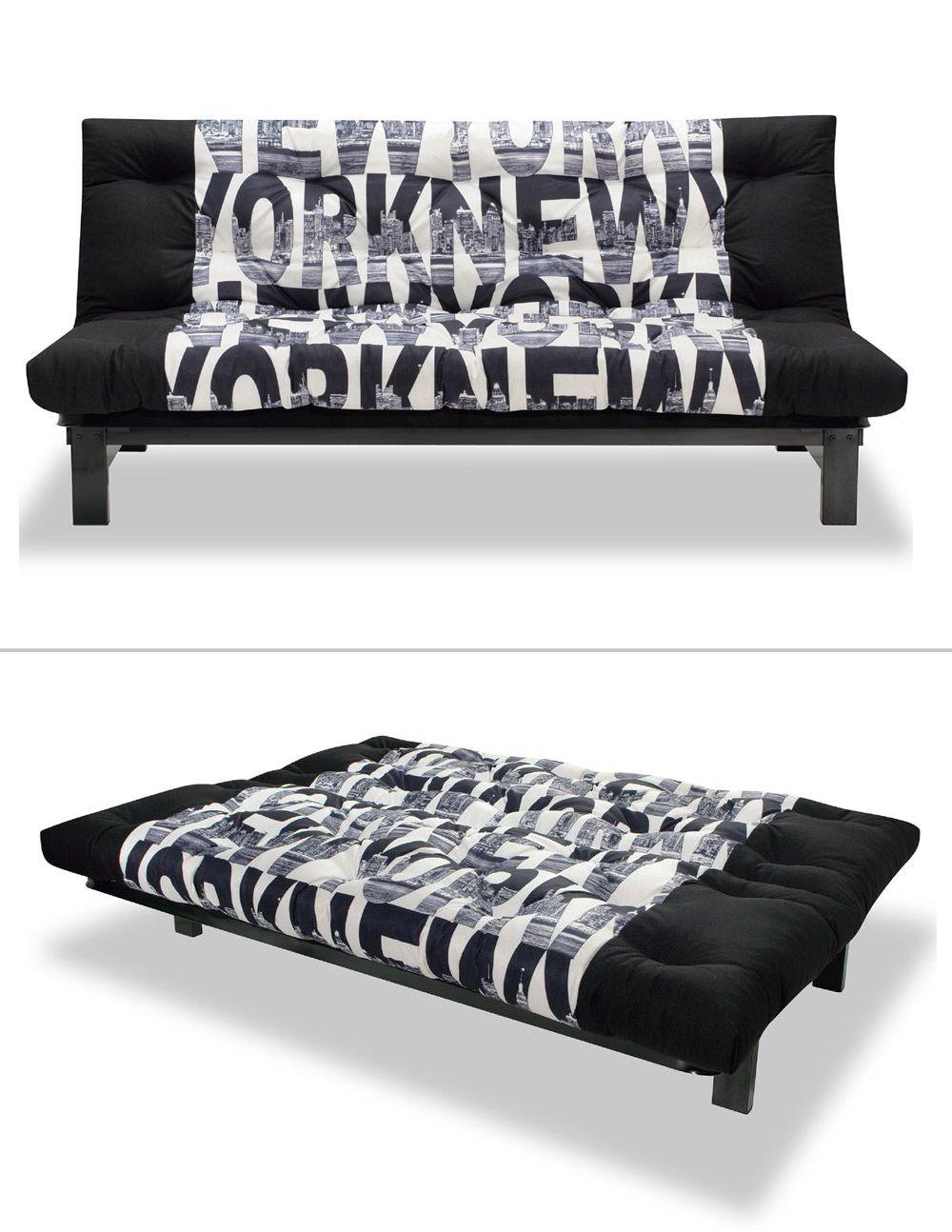 kultiges Schlafsofa New York, New York | Das Sofa präsentiert sich ...