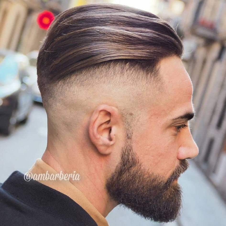 Mens haircut buzzed sides long top long top shaved sides hairstyle for men  step by step hairstyles