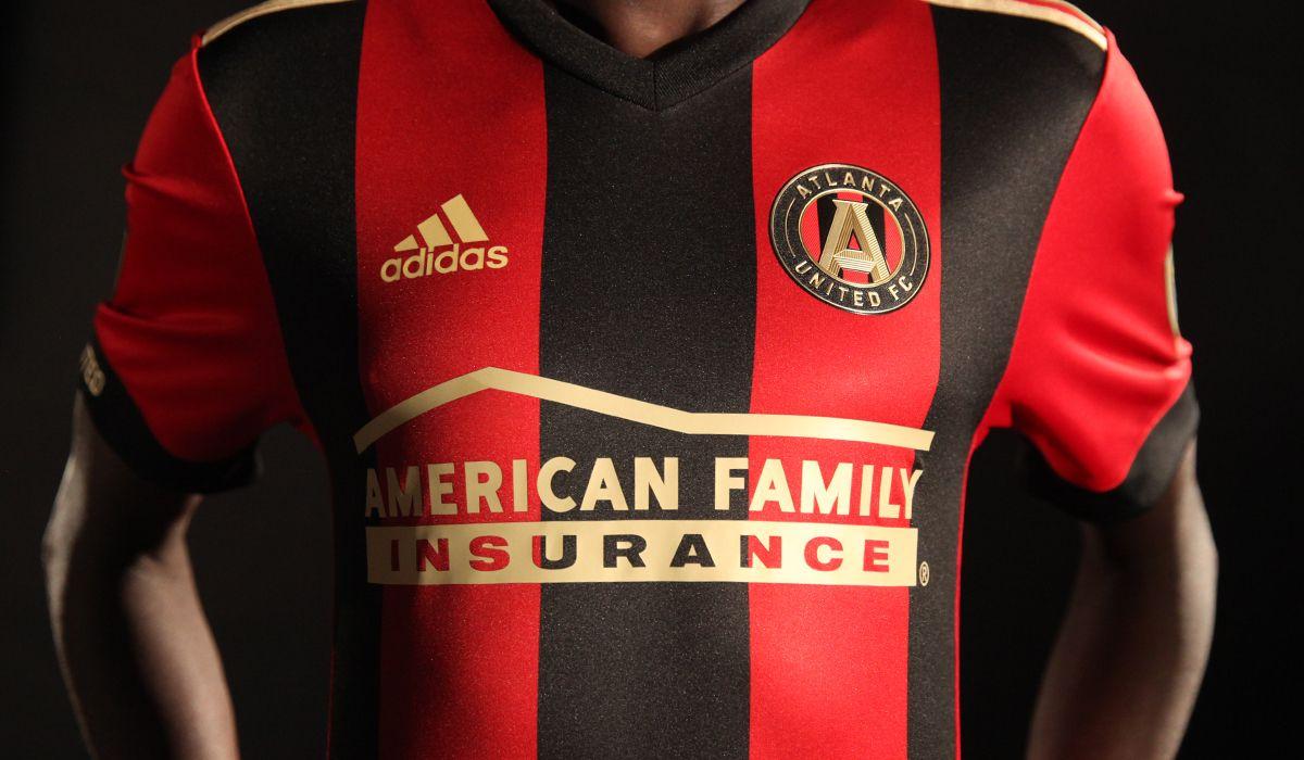 on sale 8cf31 bdcce 2017 ATL UTD Home Kit   Atlanta United FC   Futbol   Atlanta ...
