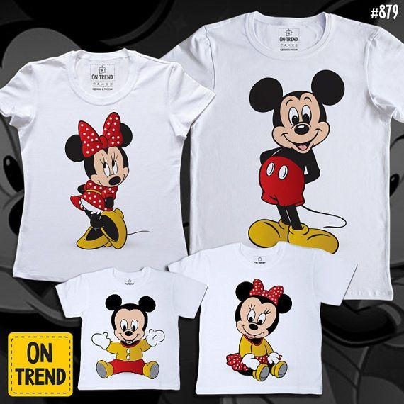 Mickey t-hirts Set de una familia disney familia por ONTRENDclothes