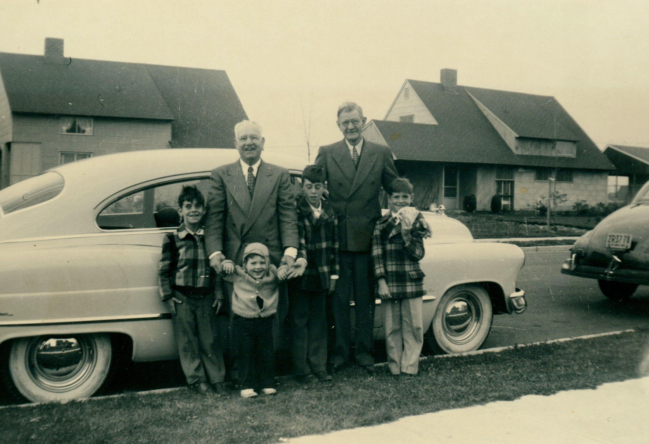 george van eron william sauter and the van eron boys 1951 cutter
