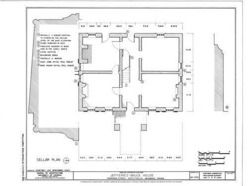 Virginia Palladian House Plans Detailed Blueprints Traditional Southern Style House Plans Early American Homes Colonial House Plans