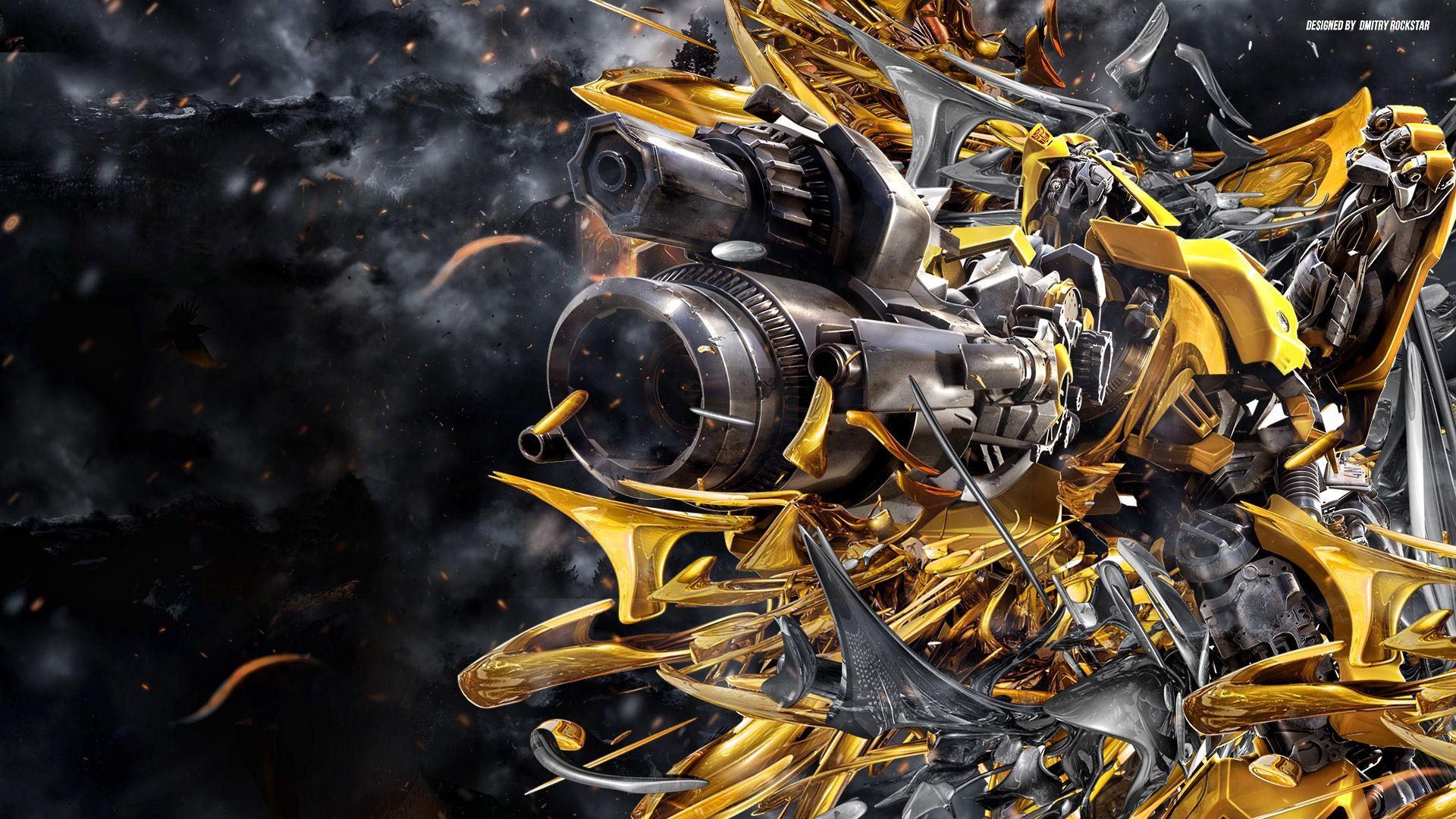 Transformers 4 Bumblebee Wallpaper HD Dlwallhd