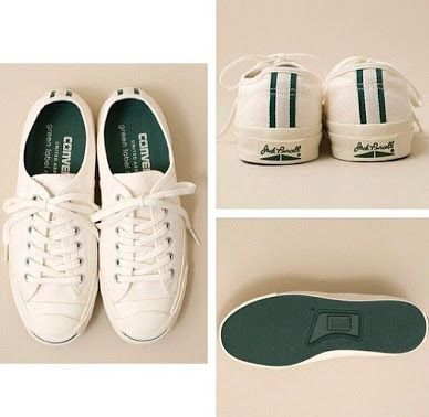converse jack purcell green label