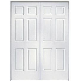 Reliabilt Colonist Primed Hollow Core Molded Composite Double Prehung Interior Door Common 4 Reliabilt Prehung Interior Doors Double Doors Interior