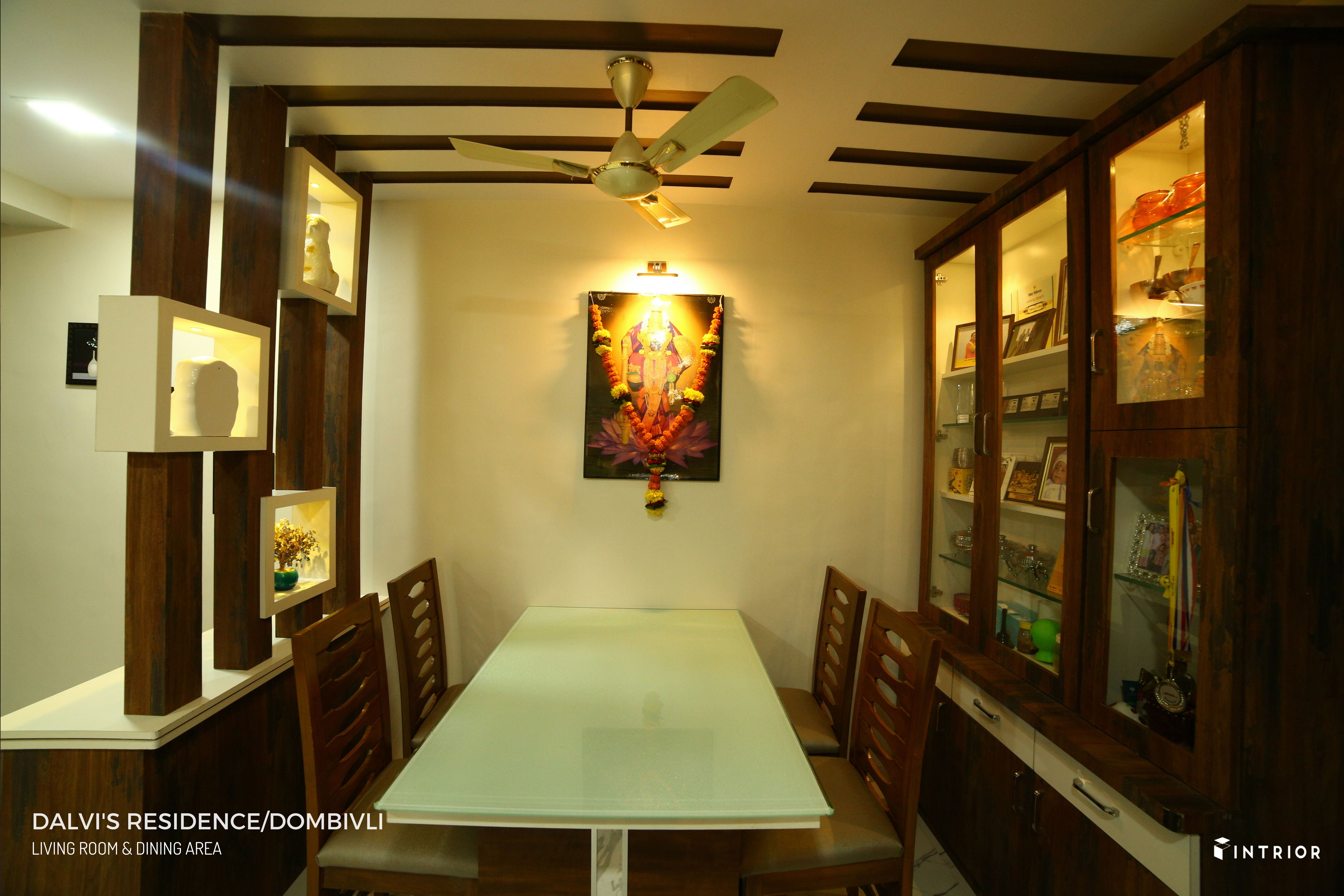 Dining Area Design At Dombivli Thane Dining Area Design