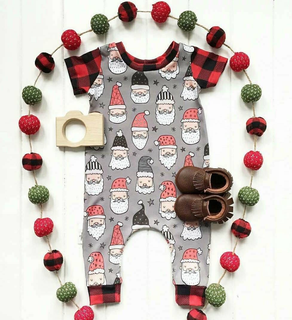 6c5baa5cc3fa Hipster Santa Christmas Outfit Holiday Don t Stop Believing Modern ...