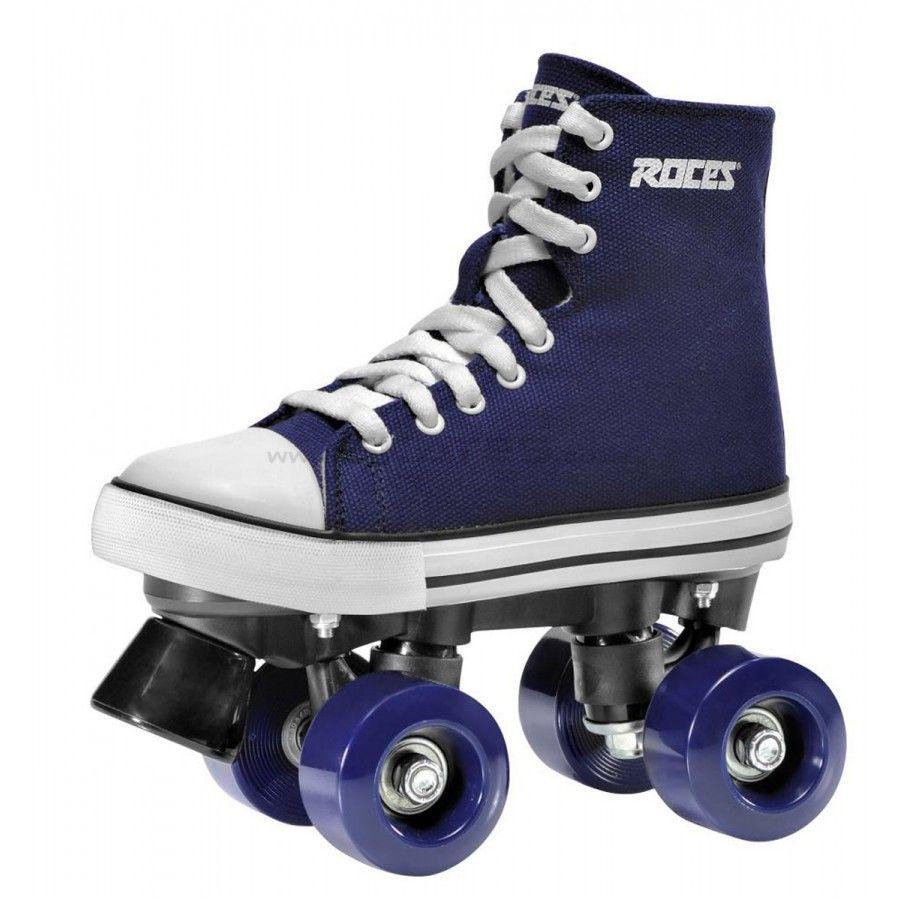 Pop out roller skate shoes - Roces Kuod Roller Skates Navy Blue