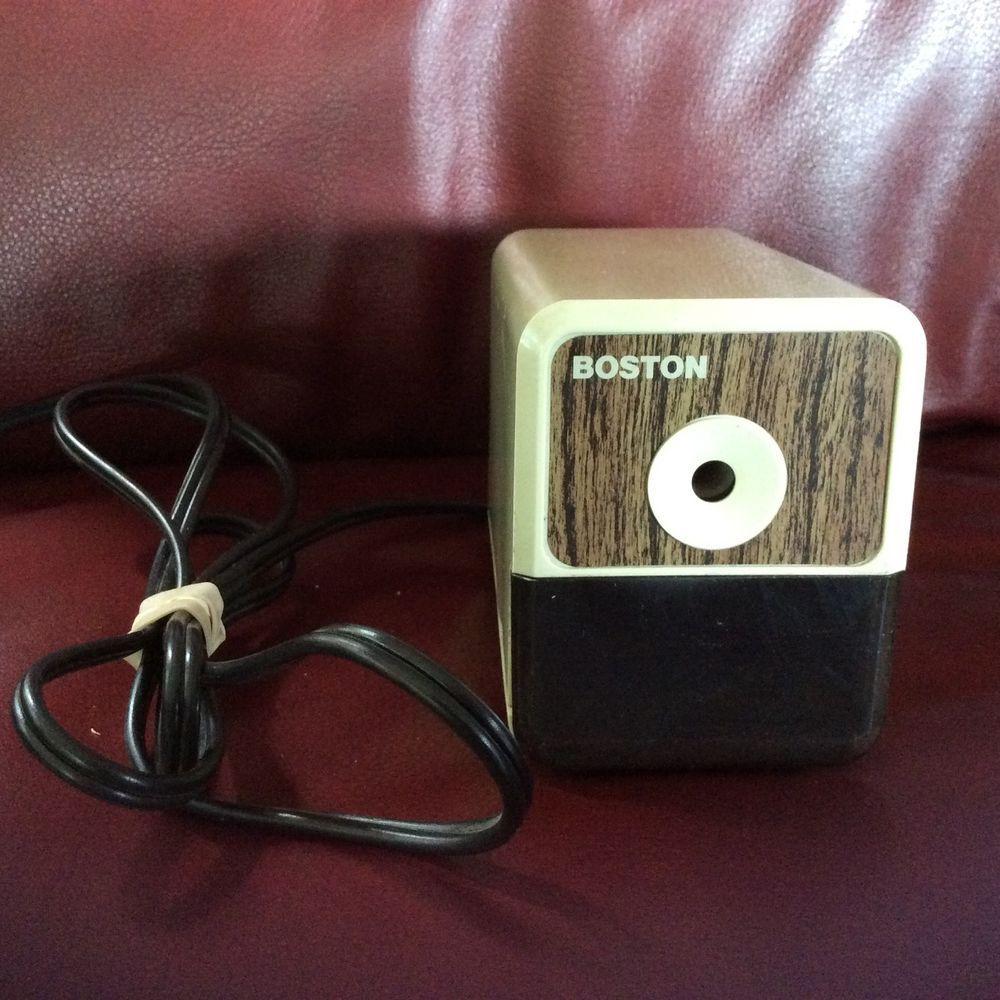 Hunt boston model 18 296a electric pencil sharpener made