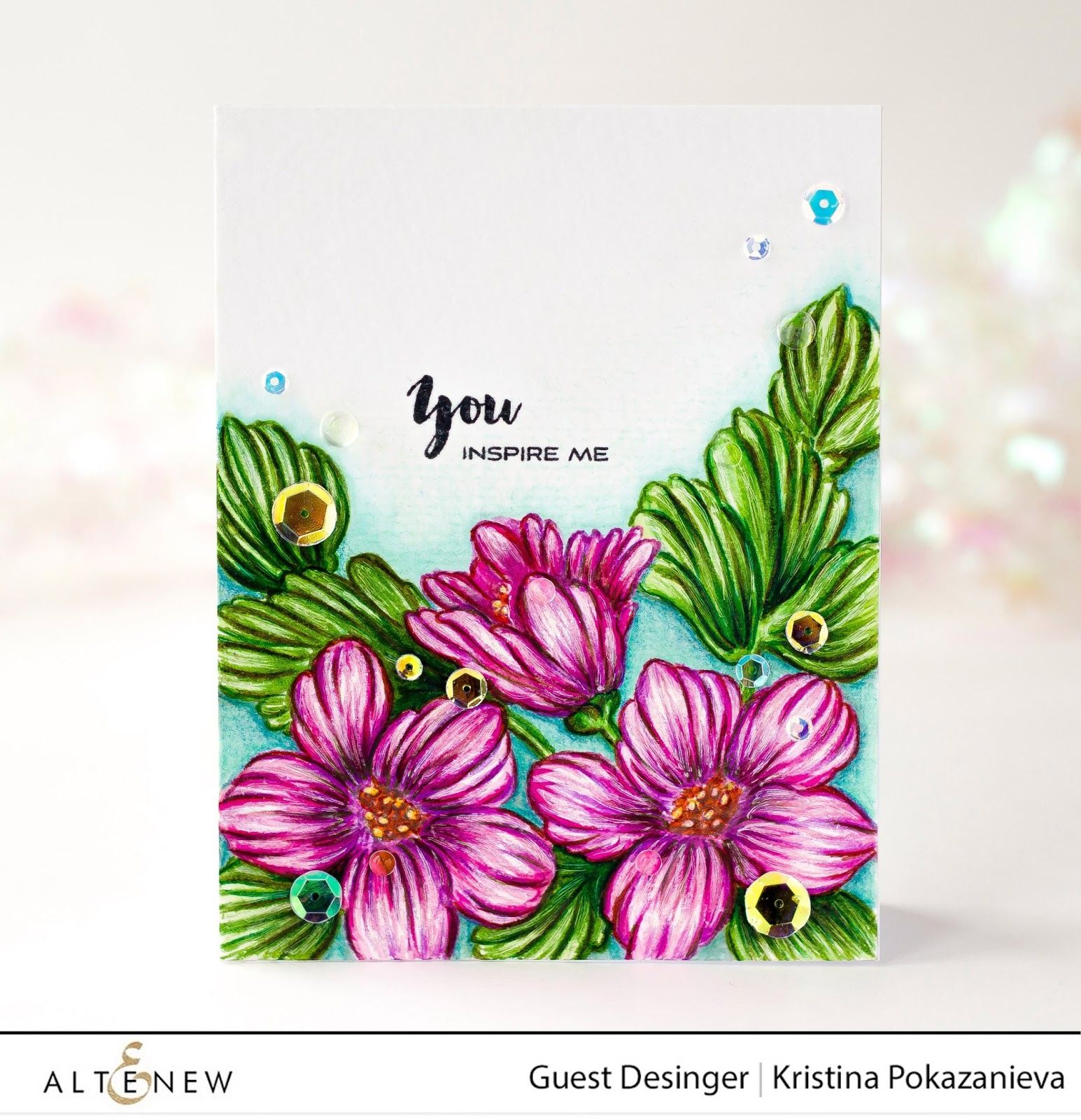Altenew Guest Designer | Mint Dreams