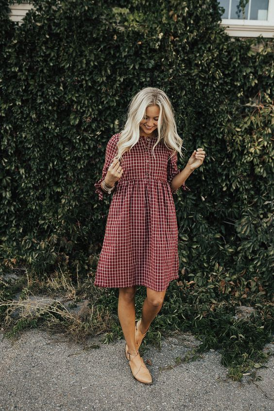 Photo of 15 chic ways to get a plaid dress for summer …