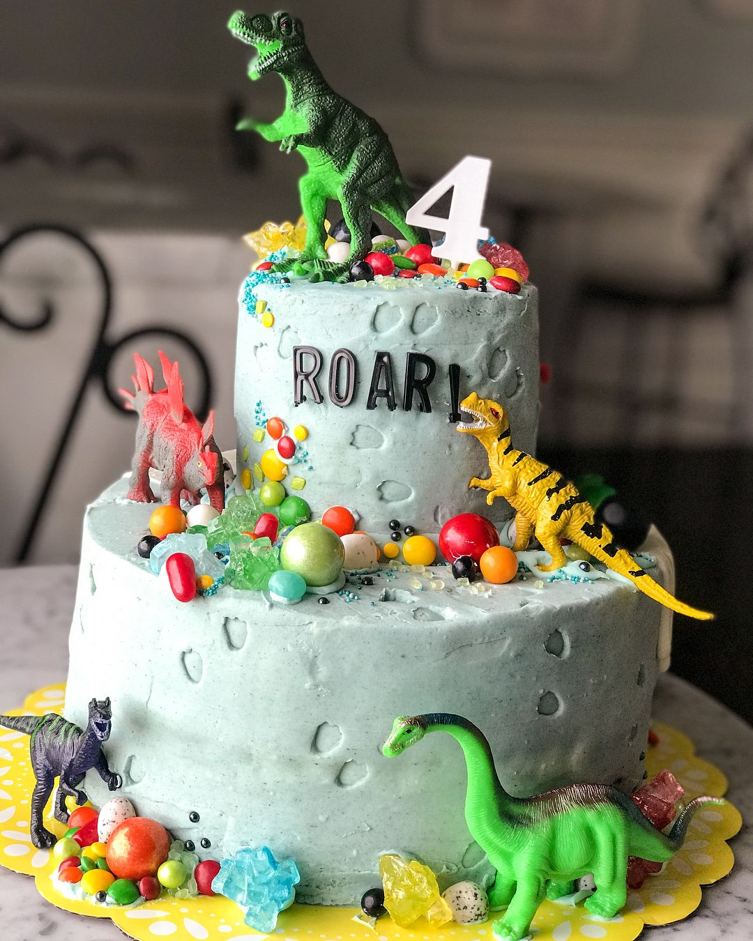 Cool Image May Contain Dessert And Food Dinosaur Themed Birthday Funny Birthday Cards Online Sheoxdamsfinfo