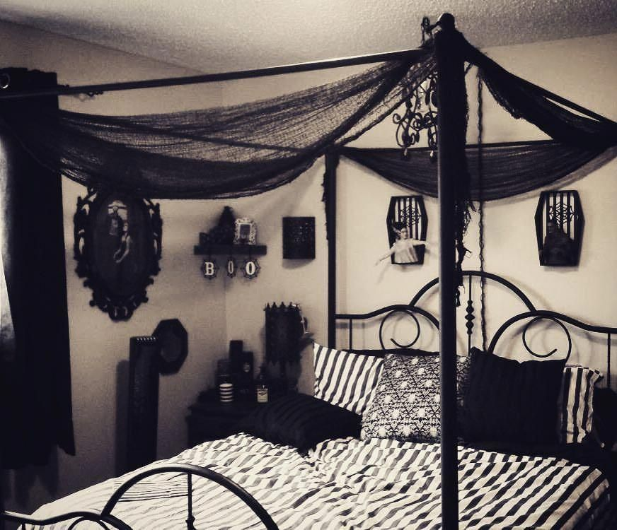 Turn Your Attic Into A Bedroom Remodel Bedroom Goth Home Decor