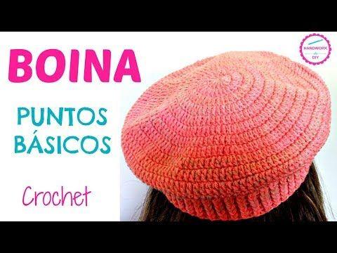 1034) BOINA CLÁSICA A CROCHET PASO A PASO - YouTube  601aa9fe3dc