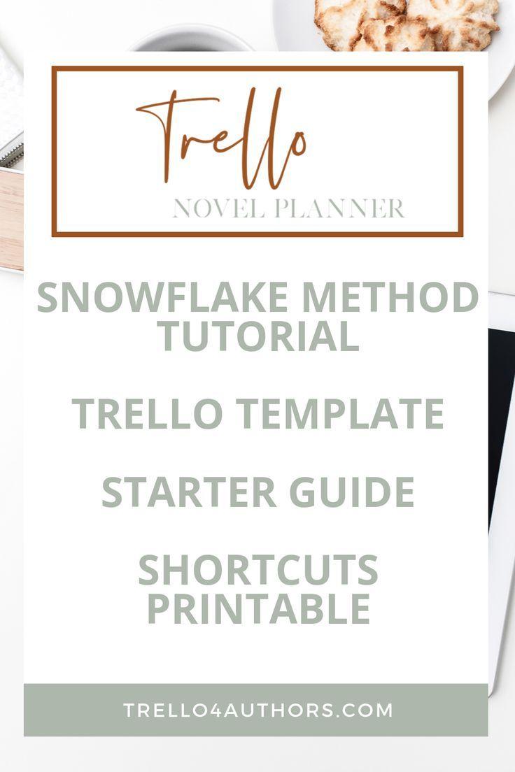 snowflake method novel planner  book writing tips novel