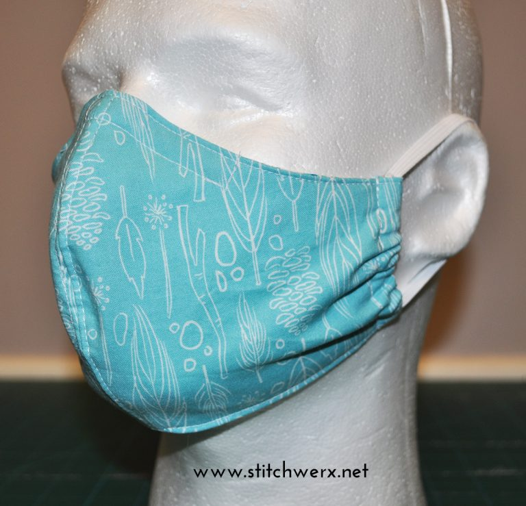 Free Fitted Face Mask Sewing Pattern Stitchwerx Designs