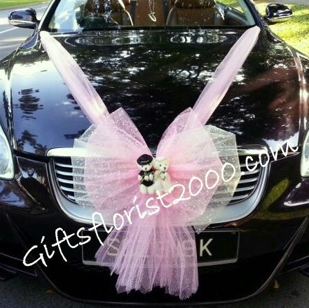 Bridal Car Decoration 19 Wedding Couple Bear Weddings In 2019