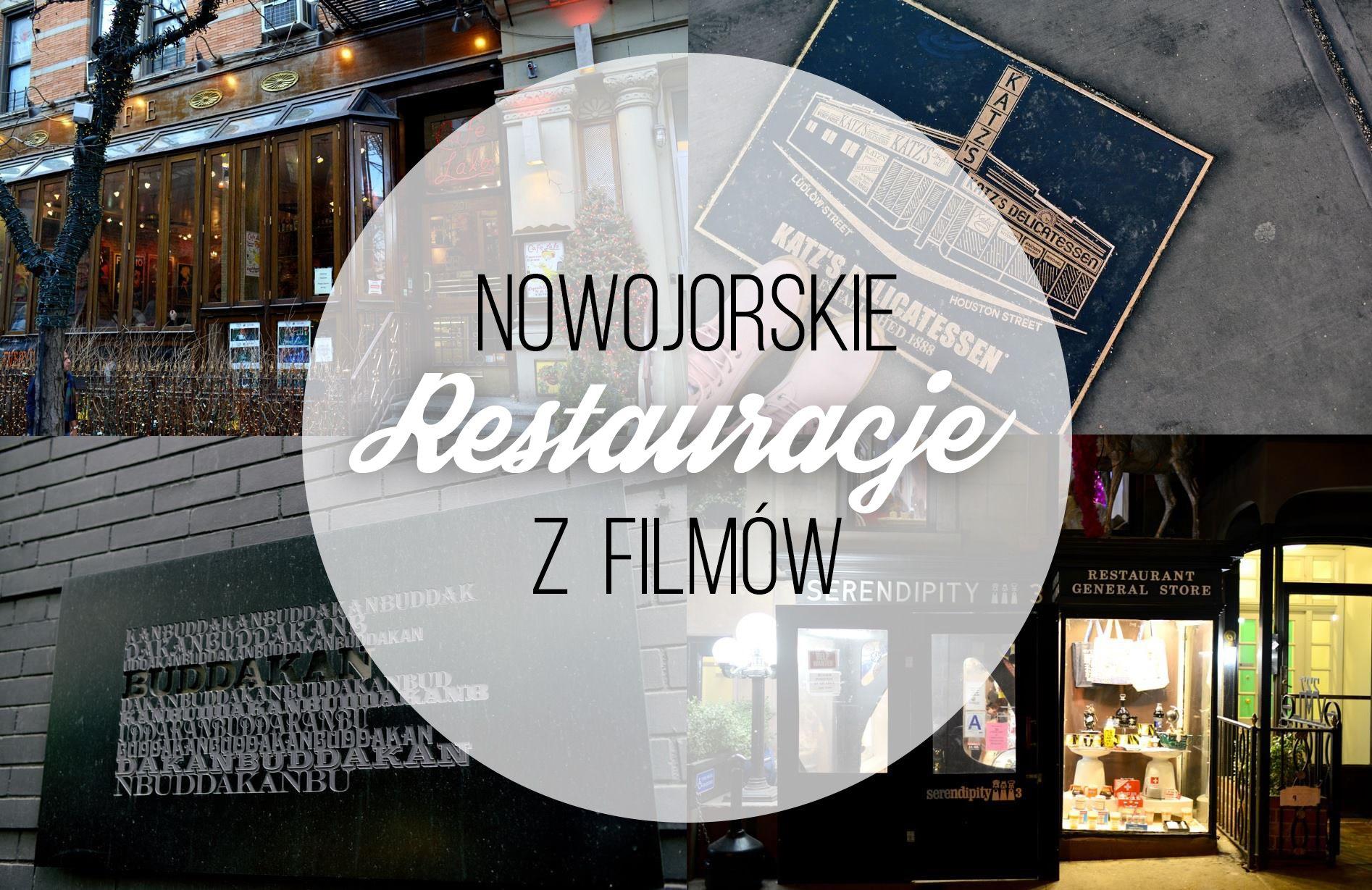 NOWY JORK: Restauracje z filmów