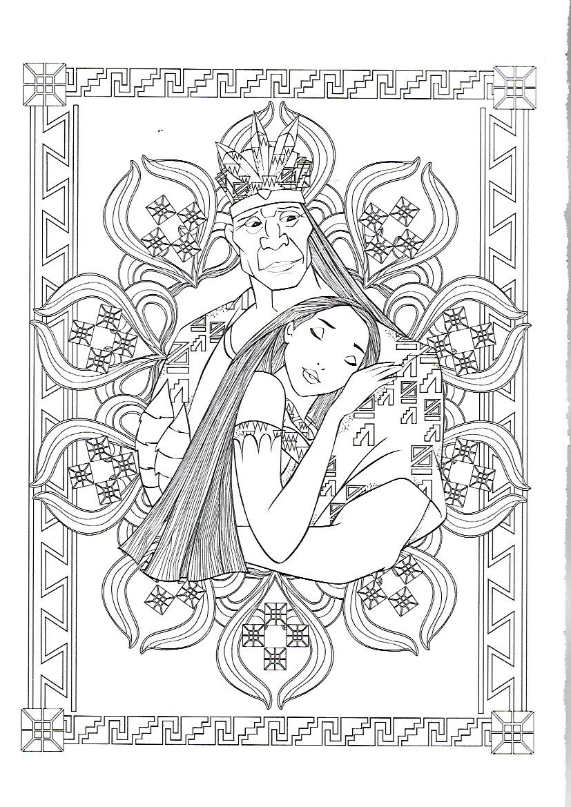 Find this Pin and more on coloriage pocahontas by marjo1001
