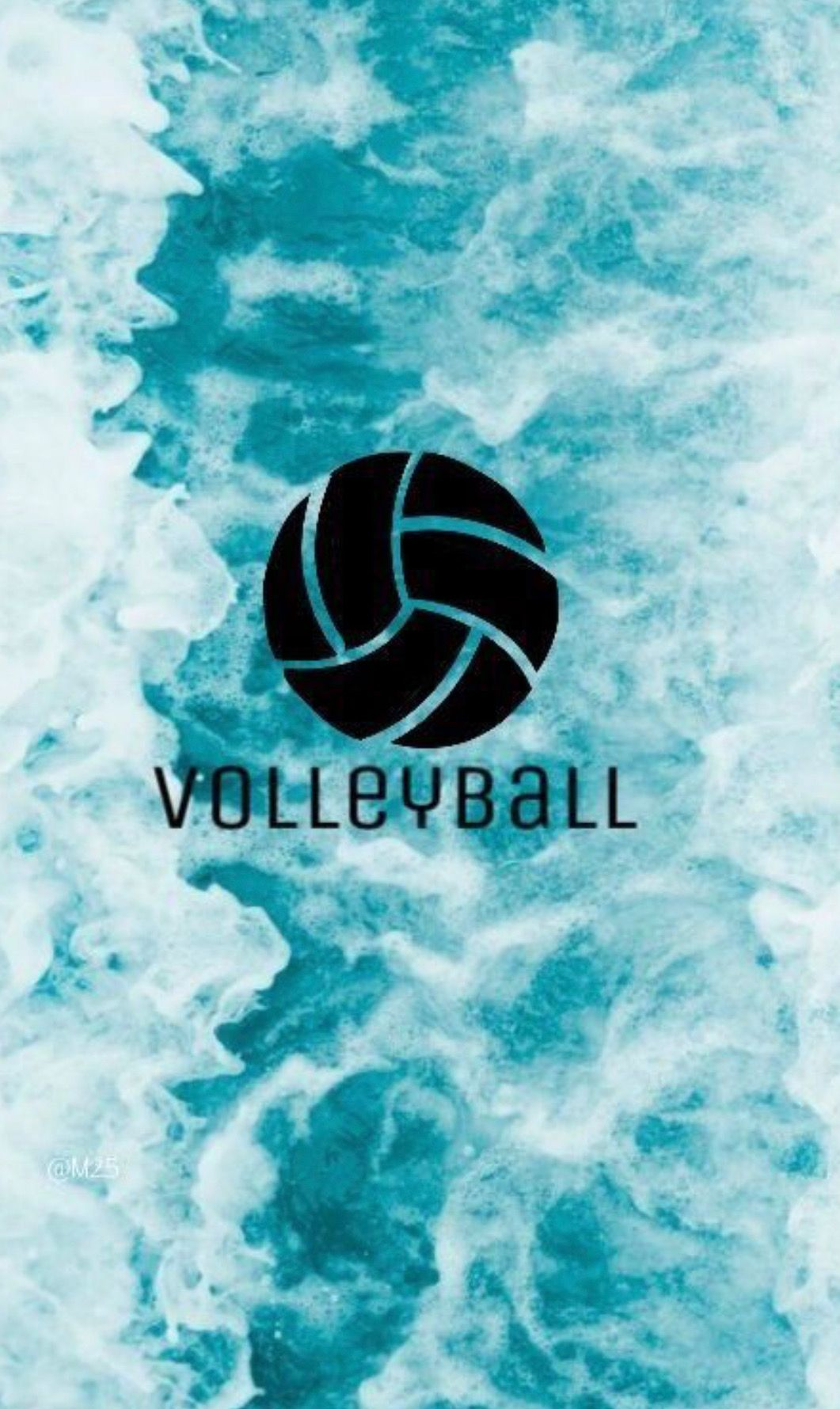 Pin By Loveemma On Background Volleyball Wallpaper Volleyball Backgrounds Volleyball Drawing
