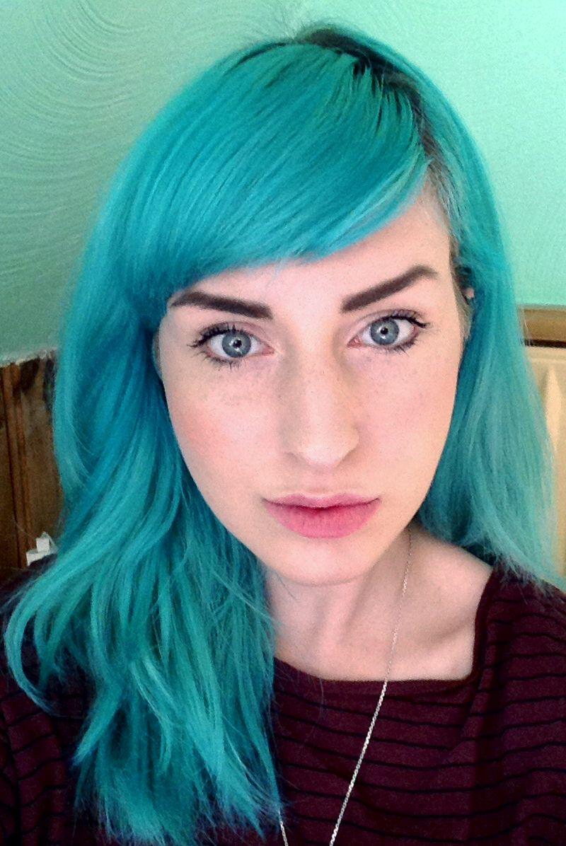Photo hairspo pinterest indie scene hair indie scene and teal