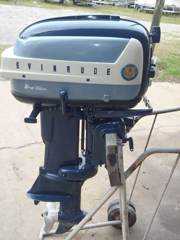 Motors For Sale >> 1958 35 Hp Evinrude Outboard Vintage Boat Motor Motors Boat