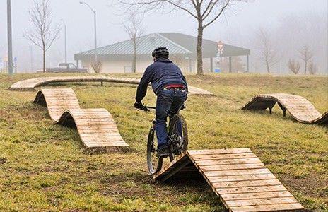 Progressive Bike Ramps Bike Pump Track Bmx Ramps Mountain
