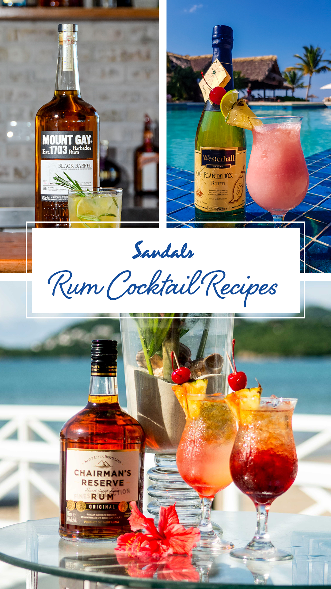Caribbean Rum Cocktail Recipes in 2020 (With images) Rum