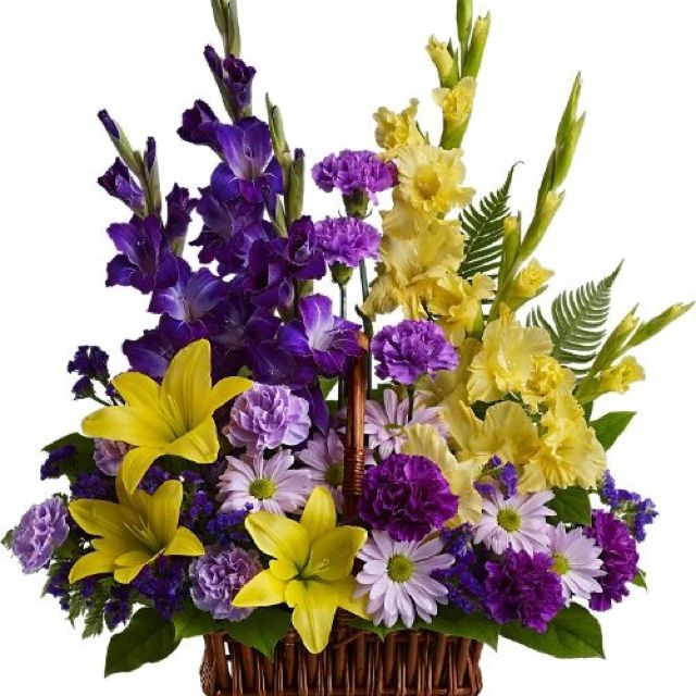Yellow and purple centerpiece flower centerpiece pinterest yellow and purple centerpiece mightylinksfo