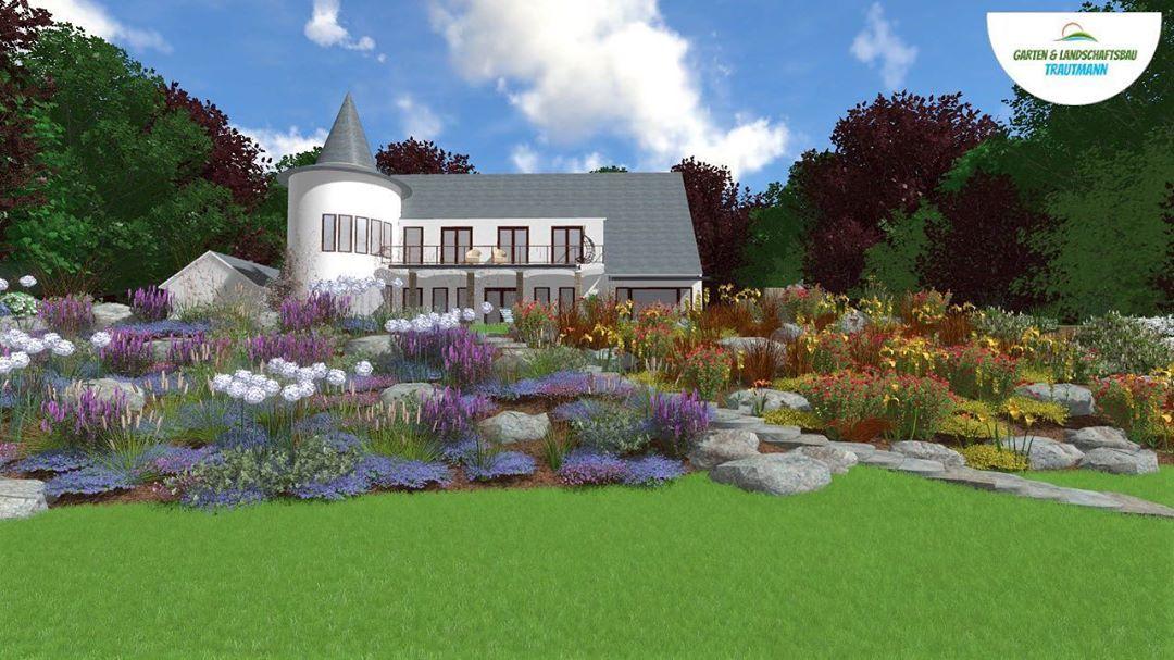 Sie Mochten Ihren Garten Bzw Ihr Grundstuck Neu Gestalten Dazu Mochten Sie Eine 3 D Planung Samt Video Wir Zeig Garten Design Gartenplanung Gartengestaltung