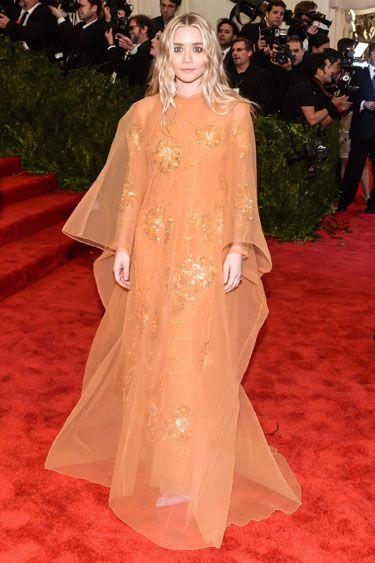 The Evolution of the Caftan: Ashley Olsen in vintage Dior