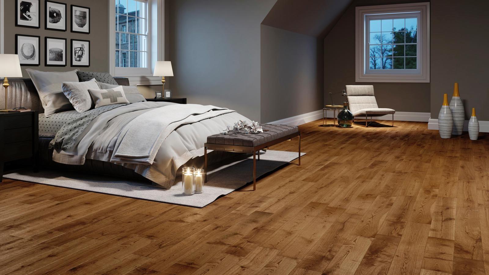 Solid European Oak Bronze Antique Wood, Bronze Oak Laminate Flooring