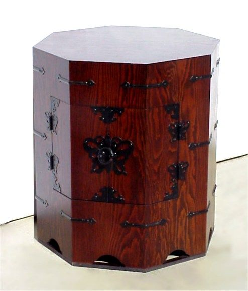 Korean Furniture Hat Boxes Which Are Still