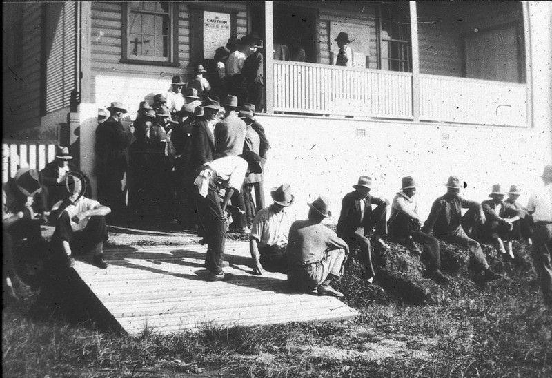 Dole Queue Coffs Harbour Nsw 1930s Australia History Coffs