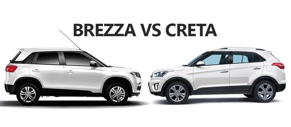 Maruti Vitara Brezza Vs Hyundai Creta Specs Comparison Https