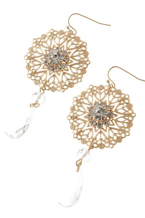 Golden Addette Earrings