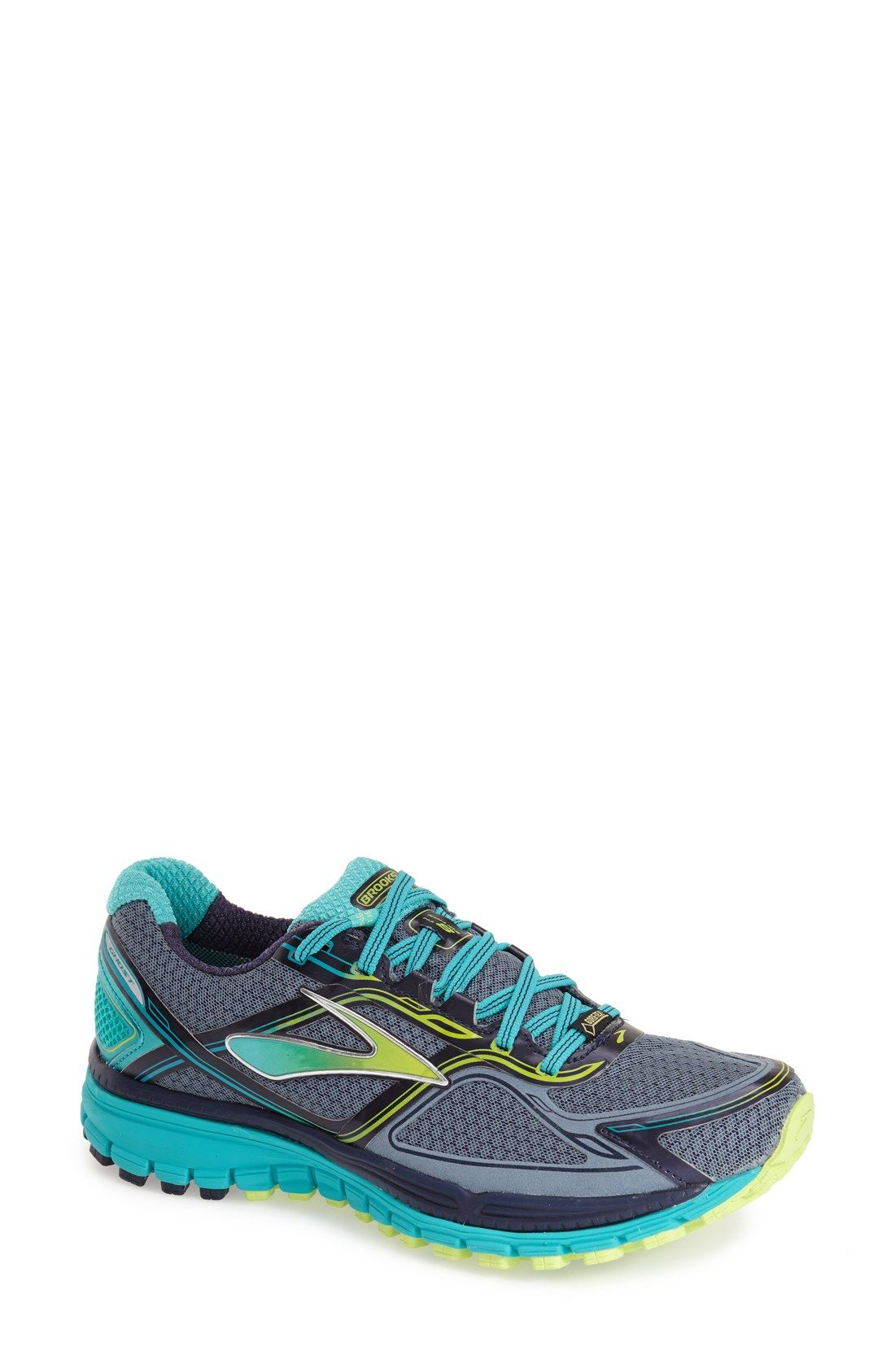 Brooks 'Ghost 8 GTX' Waterproof Running Shoe (Women