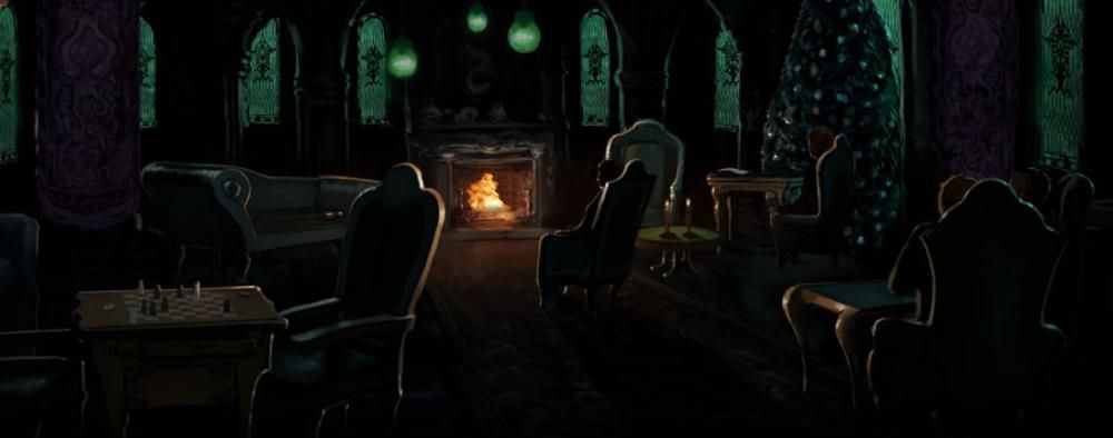 Slytherin Commonroom Common Room Pottermore Slytherin Slytherin