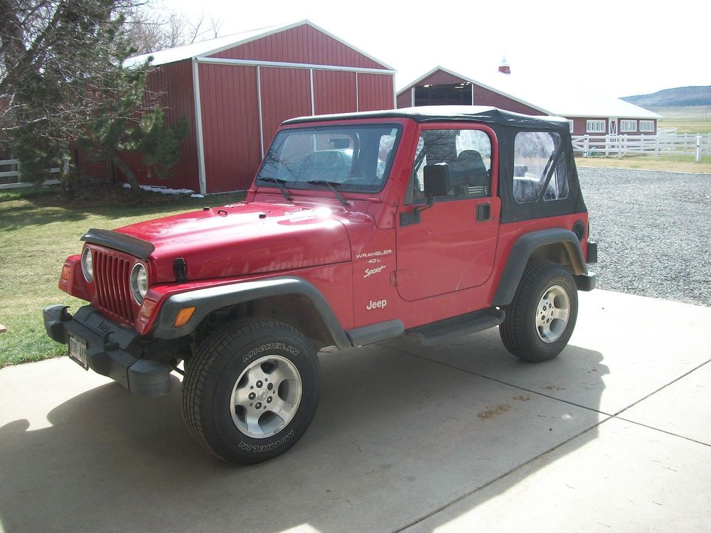 2000 Jeep Wrangler Sport 2000 jeep wrangler, Jeep