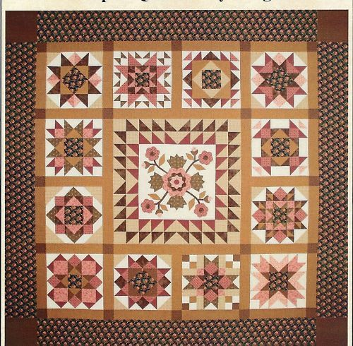 A Mother S Love Sampler Quilt Pattern By Lori Smith Ebay