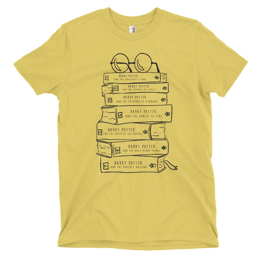 Harry Potter Book Lovers / Stack of Books Baseball Tee / Book series / aGr9J88L