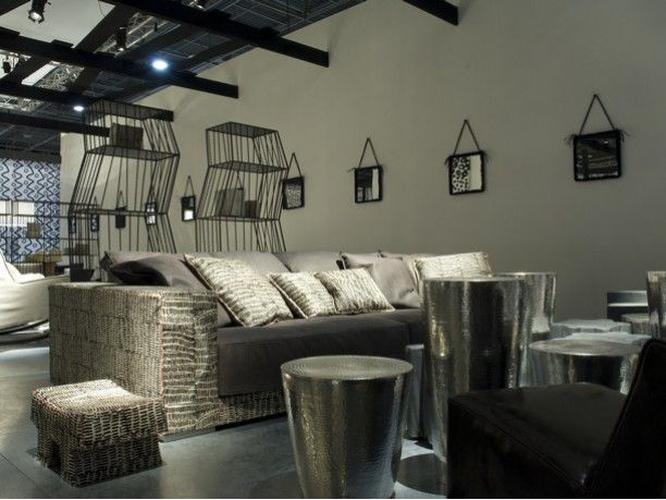 Collezione black white by paola navone per baxter for Baxter paola navone