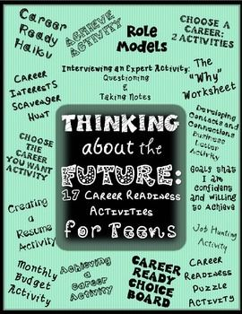 Career activities for teens