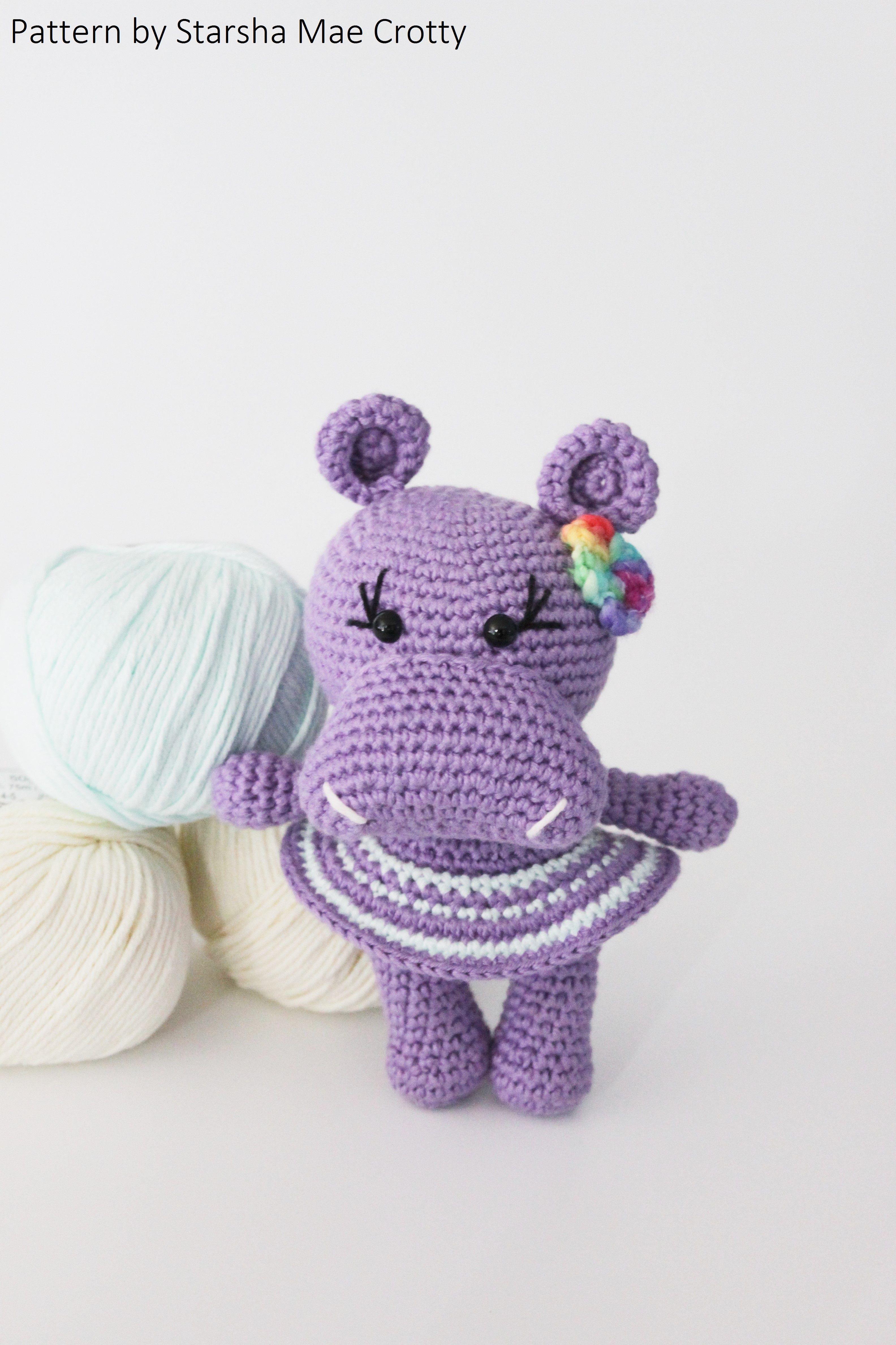 Crochet Hippo Pattern Interesting Ideas